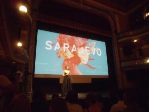 Otvoranjeto na Saraevskiot festival