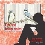 """Текстот е дел од проектот """"Не молчи, запри го насилството"""" на НЧП и WWDP"""